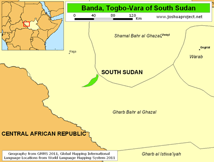 Banda, Togbo-Vara in South Sudan