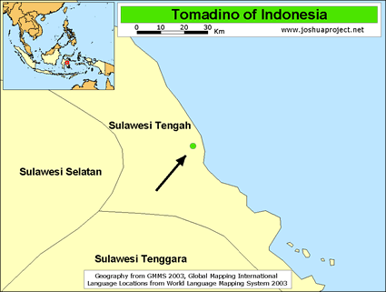 Tomadino in Indonesia