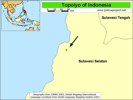 Topoiyo in Indonesia