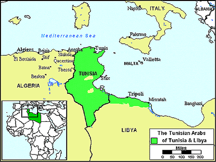 Arab, Tunisian in Libya