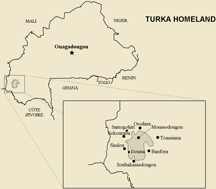 Turka, Tyurama in Burkina Faso