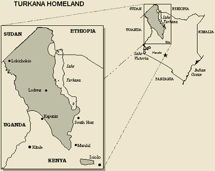 Turkana in Kenya