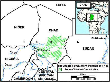 Arab, Turku in Chad