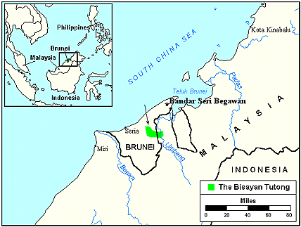 Tutong, Bisayan in Brunei