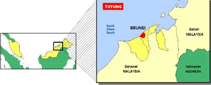 Tutung in Brunei