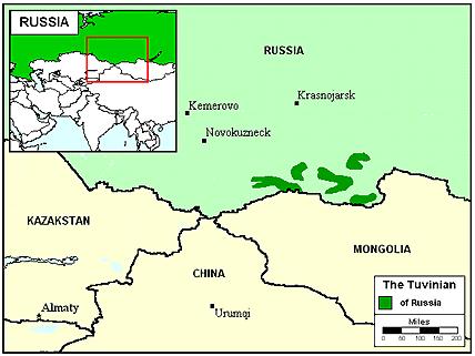 Tuva Uriankhai in Russia Joshua Project