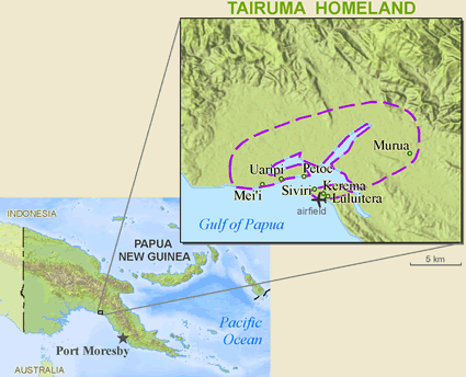 Uaripi in Papua New Guinea