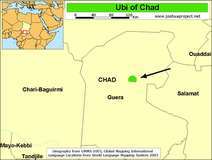 Ubi in Chad
