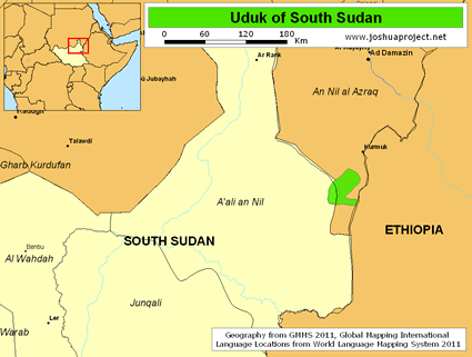 Uduk in South Sudan