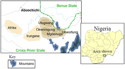 Utugwang, East Mbube in Nigeria