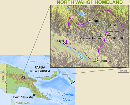Wahgi, North in Papua New Guinea
