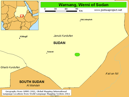 Warnang, Werni in Sudan