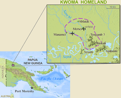 Washkuk, Kwoma in Papua New Guinea