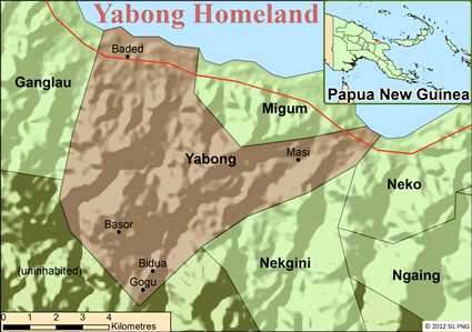 Yabong in Papua New Guinea