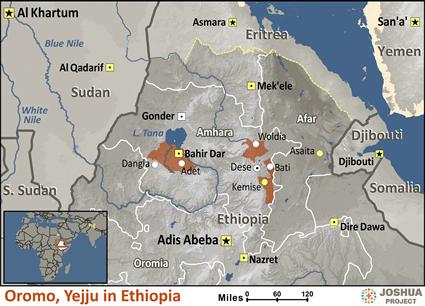 Oromo, Yejju in Ethiopia | Joshua Project