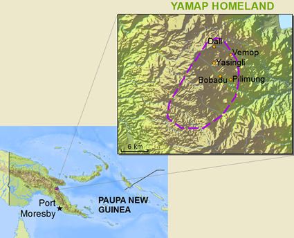 Yamap in Papua New Guinea