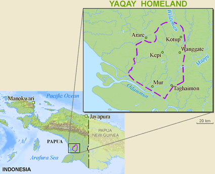 Map of Yaqay, Sohur in Indonesia