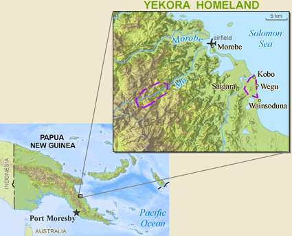 Yekora in Papua New Guinea