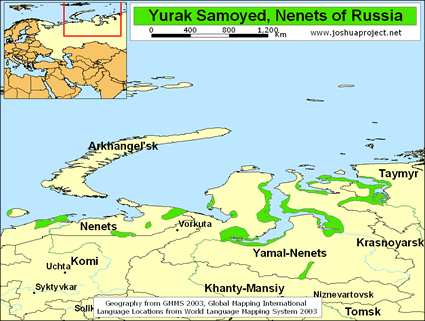 Nenets, Yurak Samoyed in Russia | Joshua Project