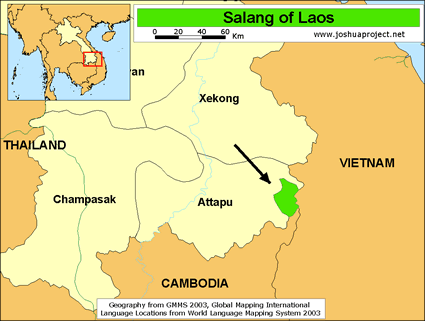 Halang in Laos