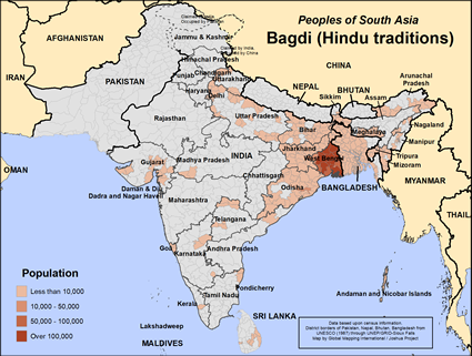 Bagdi (Hindu traditions) in India