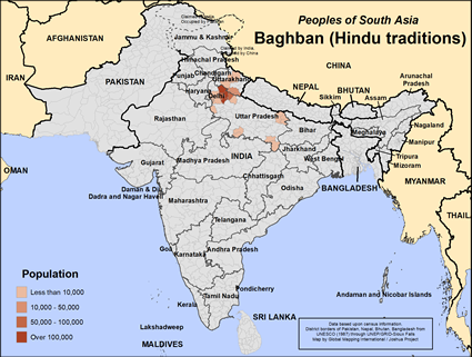 Baghban (Hindu traditions) in India
