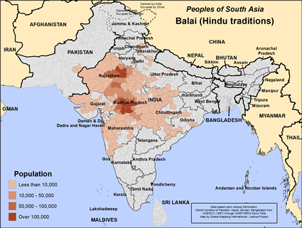 Balai, Hindu in India