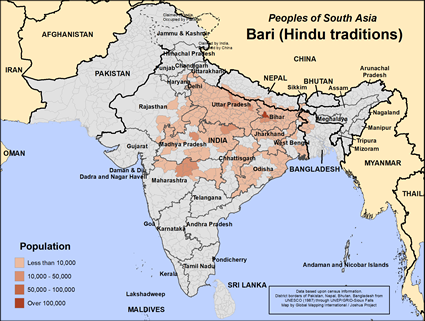 Bari (Hindu traditions) in India