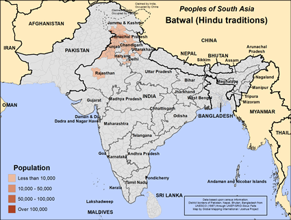 Batwal (Hindu traditions) in India
