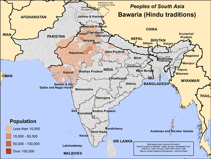 Bawaria (Hindu traditions) in Pakistan
