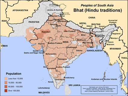 Bhat (Hindu traditions) in Pakistan