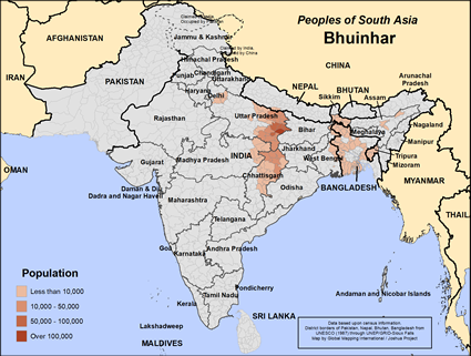 Bhuinhar in India