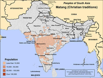 Matang (Christian traditions) in India