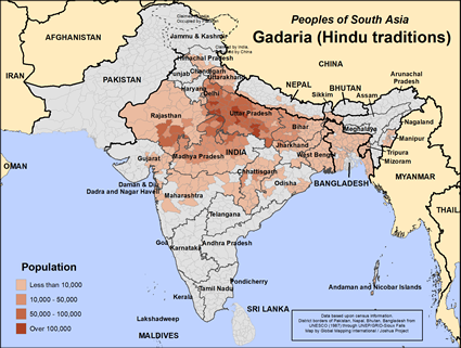 Gadaria (Hindu traditions) in Nepal