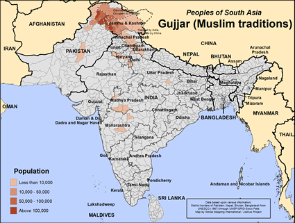 Gujjar in India