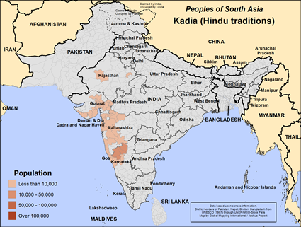 Kadia (Hindu traditions) in India