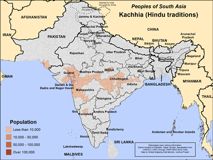 Kachhia, Hindu in India