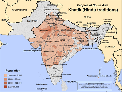 Khatik, Hindu in India