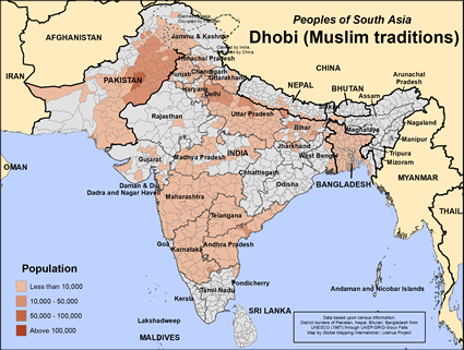 Dhobi (Muslim traditions) in India