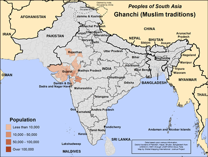 Ghanchi, Muslim traditions in India