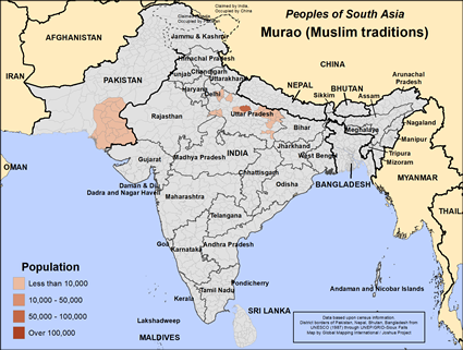 Murao (Muslim traditions) in India