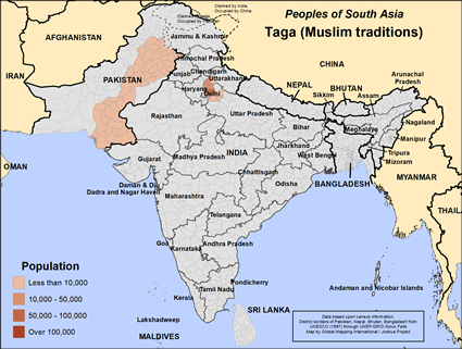 Taga (Muslim traditions) in India