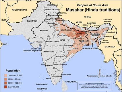 Musahar (Hindu traditions) in India