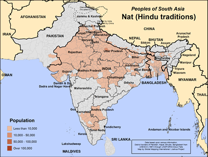 Nat (Hindu traditions) in India