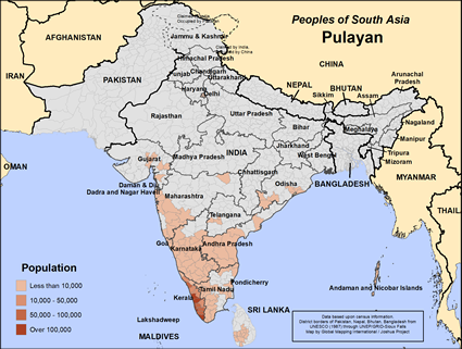 Pulayan (Hindu traditions) in India