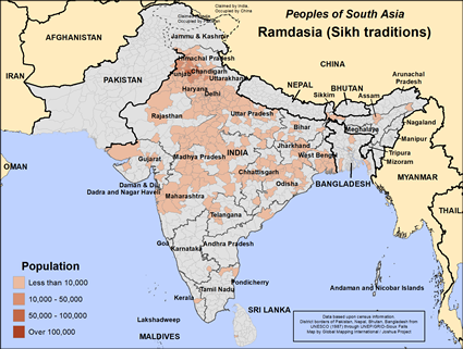 Ramdasia (Sikh traditions) in India