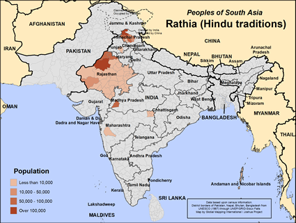 Rathia (Hindu traditions) in India