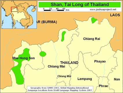 Tai Man, Shan in Thailand