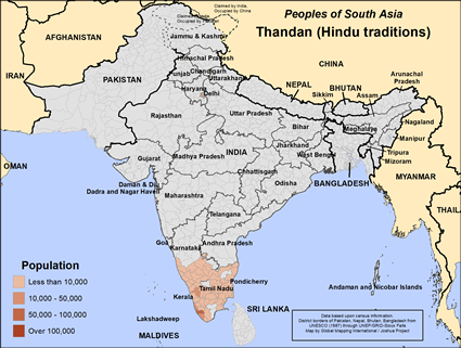 Thandan in India