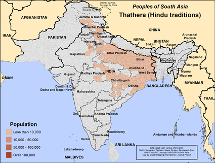 Thathera, Hindu traditions in India